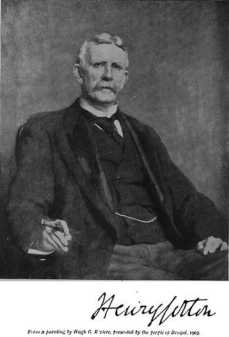 Henry Cotton (Liberal MP) - Portrait of Sir Henry Cotton