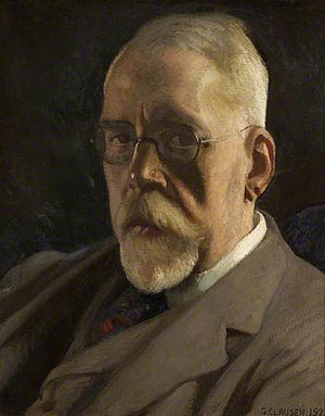 Henry Festing Jones - Henry Festing Jones, 1923 portrait by George Clausen