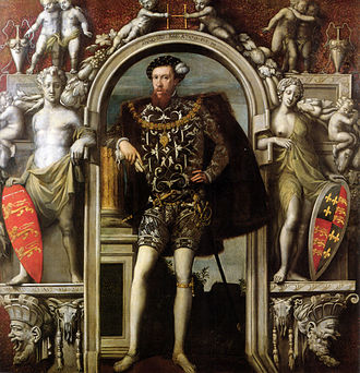 Mannerism - English Mannerism: Henry Howard, Earl of Surrey, 1546, a rare English Mannerist portrait by a Flemish immigrant