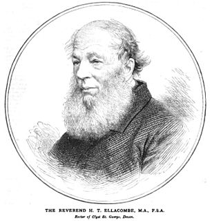 Henry Thomas Ellacombe English Anglican priest and antiquarian