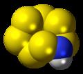 Heptasulfur imide molecule spacefill.png