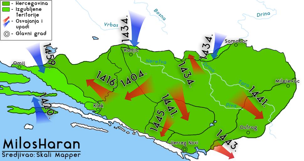 Hercegovina pre turskih osvajanja