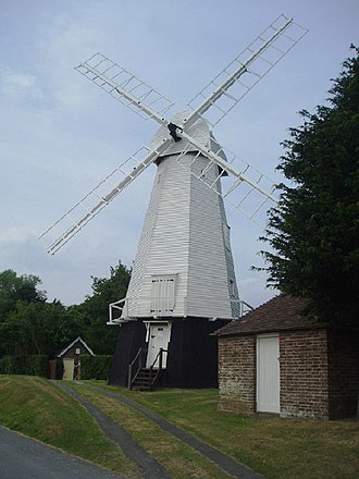 Chailey - The Heritage windmill