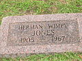 "Herman ""Wimpy"" Jones gravesite IMG 0686.JPG"
