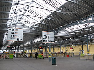 Heuston railway station - Image: Heuston railway station Dublin