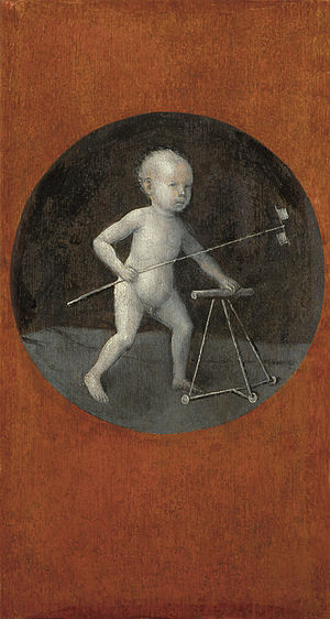 Christ Child with a Walking Frame
