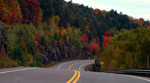 Ontario Highway 60 - Highway 60 and Algonquin Park are renowned for their autumn displays.