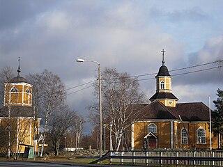 Himanka Former municipality in Central Ostrobothnia, Finland