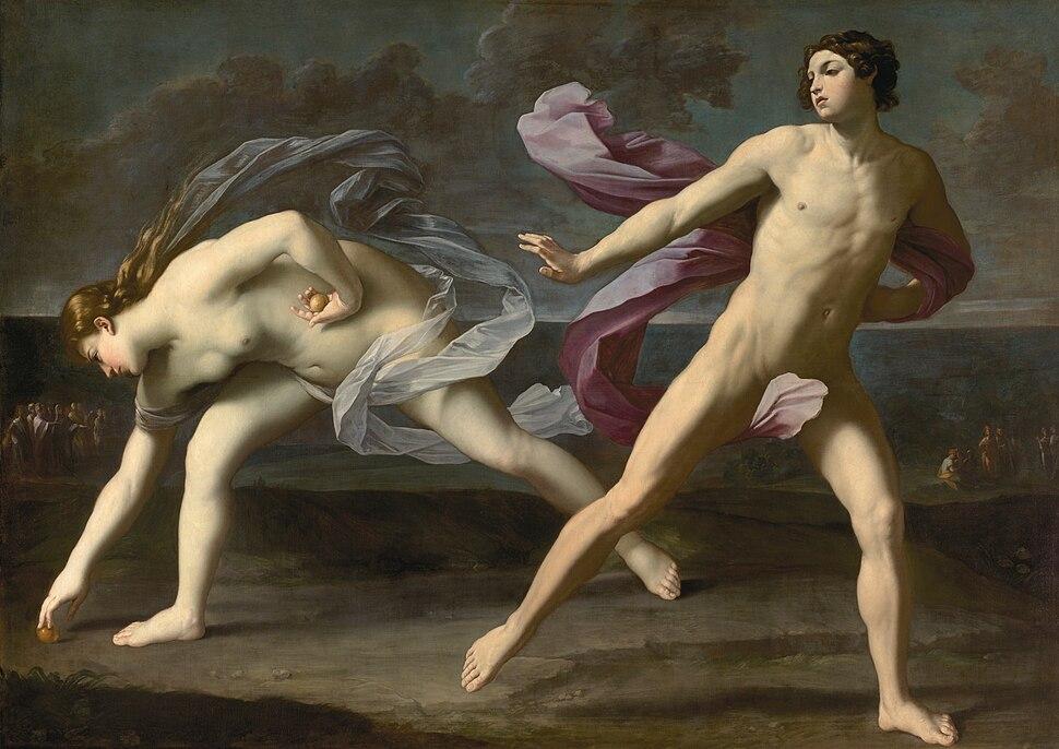 Hipómenes y Atalanta (Reni)