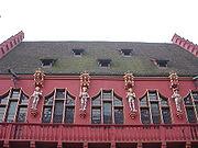 Vier Habsburger Herrscher am Historischen Kaufhaus