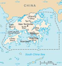Bản đồ tổng thể Hồng Kông
