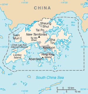 Boundaries of Hong Kong