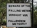 Hoba Meteorite, Grootfontein - sign.jpg