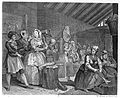 Hogarth's Harlot's Progress; The Harlot in Bridewell. Wellcome L0009678.jpg