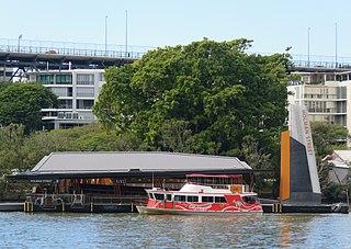 Holman Street ferry wharf