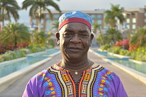 Jamaican Maroons -  Hon. Colonel Ferron Williams, Colonel-in-Chief and elected leader of Accompong 2009-present
