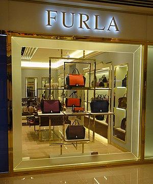Furla - Furla shop inside a Hong Kong Mall