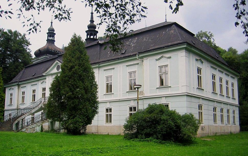 Horní Maršov (okr. Trutnov), Czerninská 1, zámek od jihu