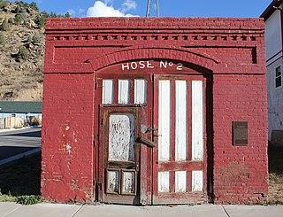 Hose House No. 2 (Idaho Springs, Colorado) United States historic place