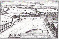 Hospital St. Georg und die Dreieinigkeitskirche - J.W.Hempel - 1722.jpg