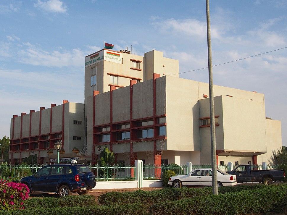 Hotel de ville Ouagadougou