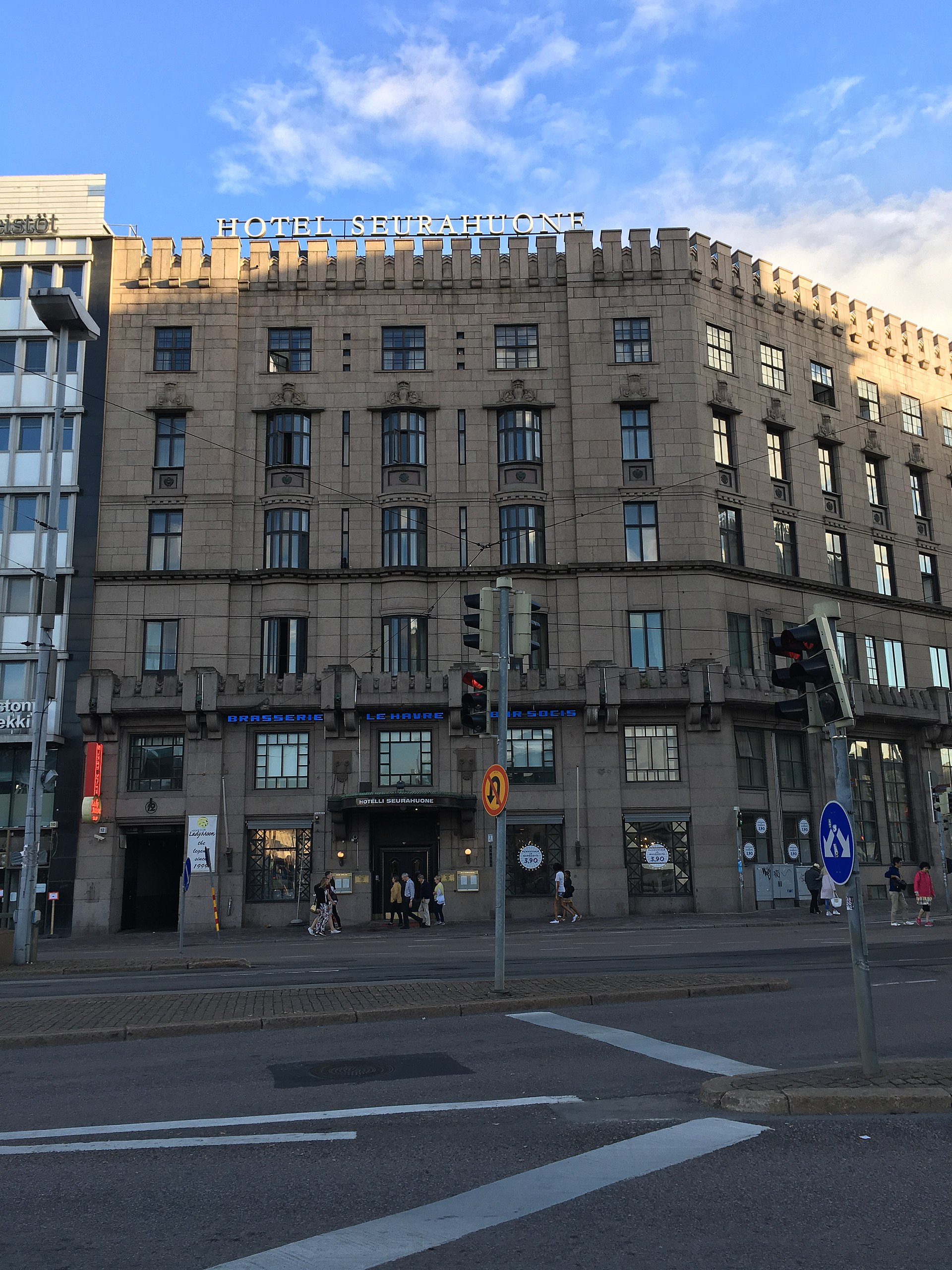 Hotelli Seurahuone Helsinki Wikipedia