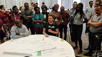 How can affiliates work better together, part 2, WikiIndaba 2018 01.jpg