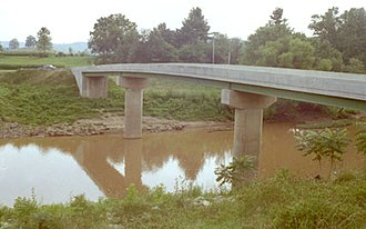 Hughes River (West Virginia) - Hughes River at Freeport