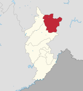 Huinan County County in Jilin, Peoples Republic of China