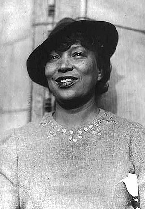 Zora Neale Hurston, American author. Deutsch: ...
