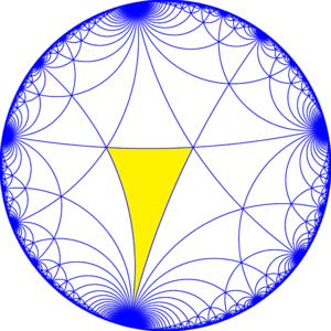 Truncated triapeirogonal tiling - Image: I32 symmetry a 00