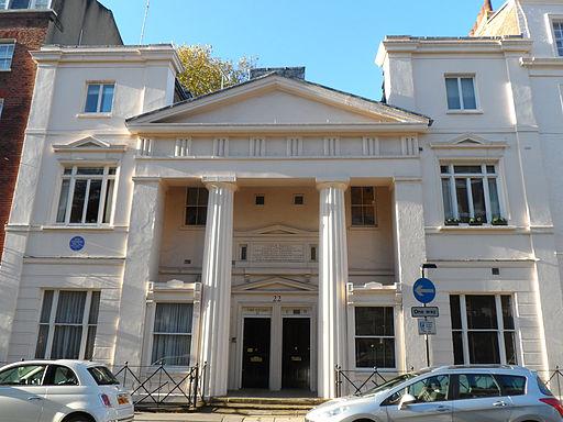 IAN FLEMING - 22 Ebury Street, Belgravia, London SW1W 8LW, City of Westminster
