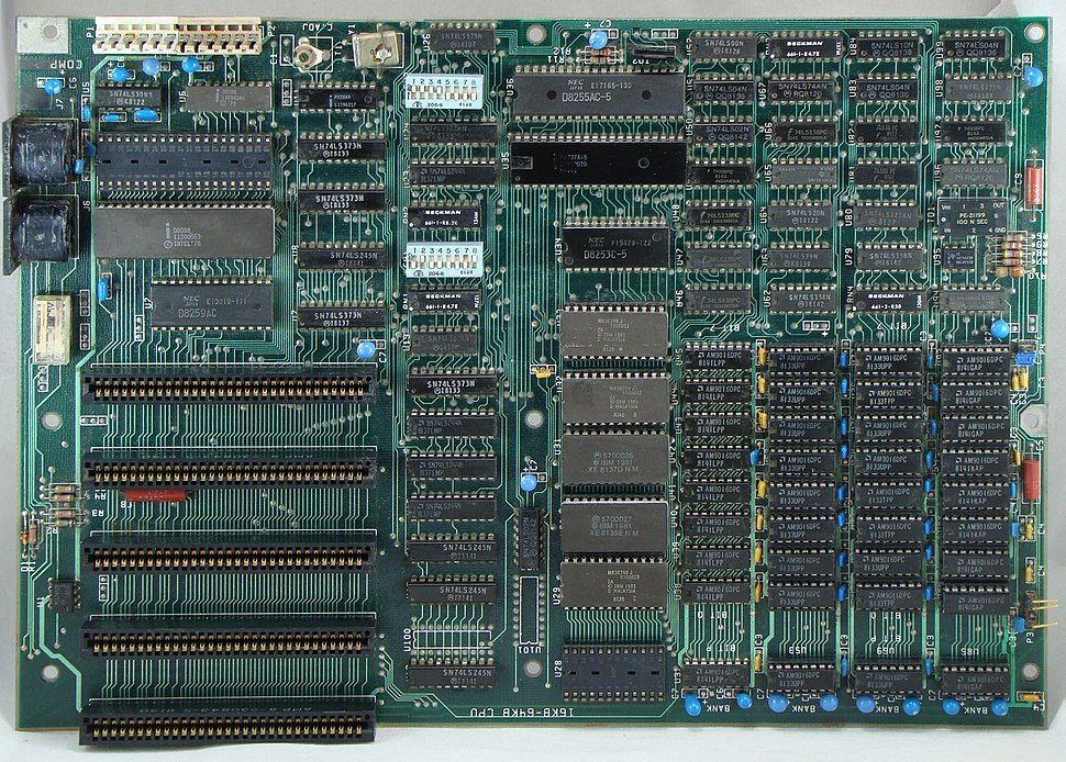 IBM PC Motherboard (1981)