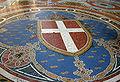 IMG 6939 - Milano - Galleria Vittorio Emanuele II - Stemma Savoia - Foto Giovanni Dall'Orto - 8-Mar-2007.jpg