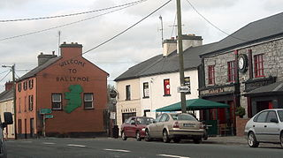 Ballymoe Town in Connacht, Ireland