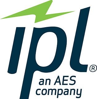 Indianapolis Power & Light American utility company providing electric service to the city of Indianapolis, IN