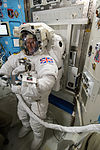 ISS-46 Timothy Peake during spacesuit fit check in the Quest airlock (1).jpg