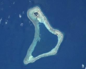 Nalongo and Nupani - NASA picture of Nalongo and Nupani Atoll