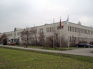 Headquarters of the IUCN in Gland, Switzerland