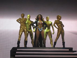 Diva (Beyoncé song) - Image: I Am... Tour 57
