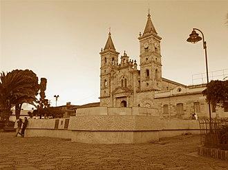 Villapinzón - Church of Villapinzón