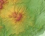 Iizuna Volcano Relief Map, SRTM-1.jpg