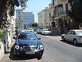 Illegally parked diplomatic vehicle in Tel Aviv 1.JPG
