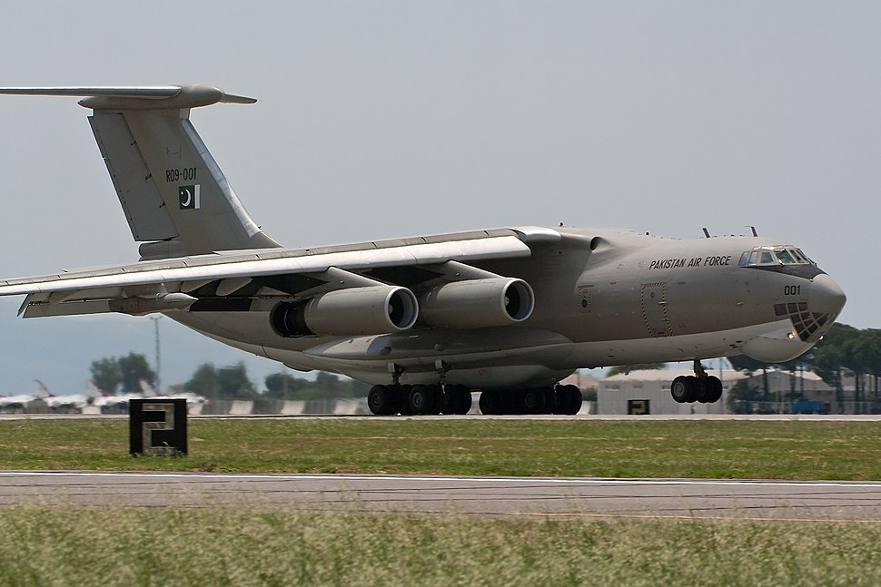 Ilyushin IL-78 (R09-001) Pakistan Air Force