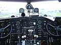 Ilyushin Il-14 cockpit console.JPG