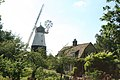 Impington Windmill and cottage in summer - geograph.org.uk - 867638.jpg