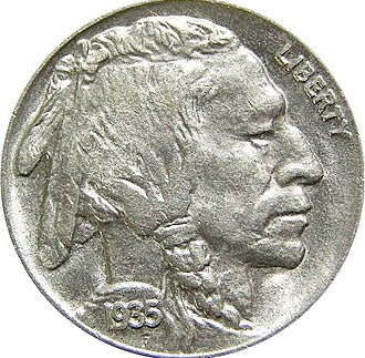 Two Moons - Two Moons was one of the models for the Buffalo nickel.