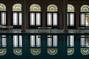 Lalgarh Palace - Indoor Pool at the Lallgarh Palace, Bikaner.