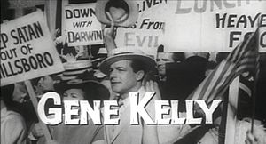 Inherit the Wind (1960 film) - Gene Kelly as Hornbeck