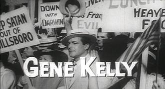 Inherit the Wind (1960 film) - Gene Kelly as Hornbeck